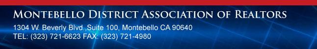 Montebello District Association of Realtors : E-News
